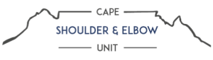 Cape Shoulder and Elbow Unit
